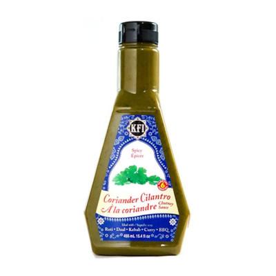 KFI Coriander Cilantro Chutney Dipping Sauce - 455ml