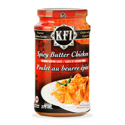 KFI Spicey Butter Chicken Cooking Sauce - 375ml