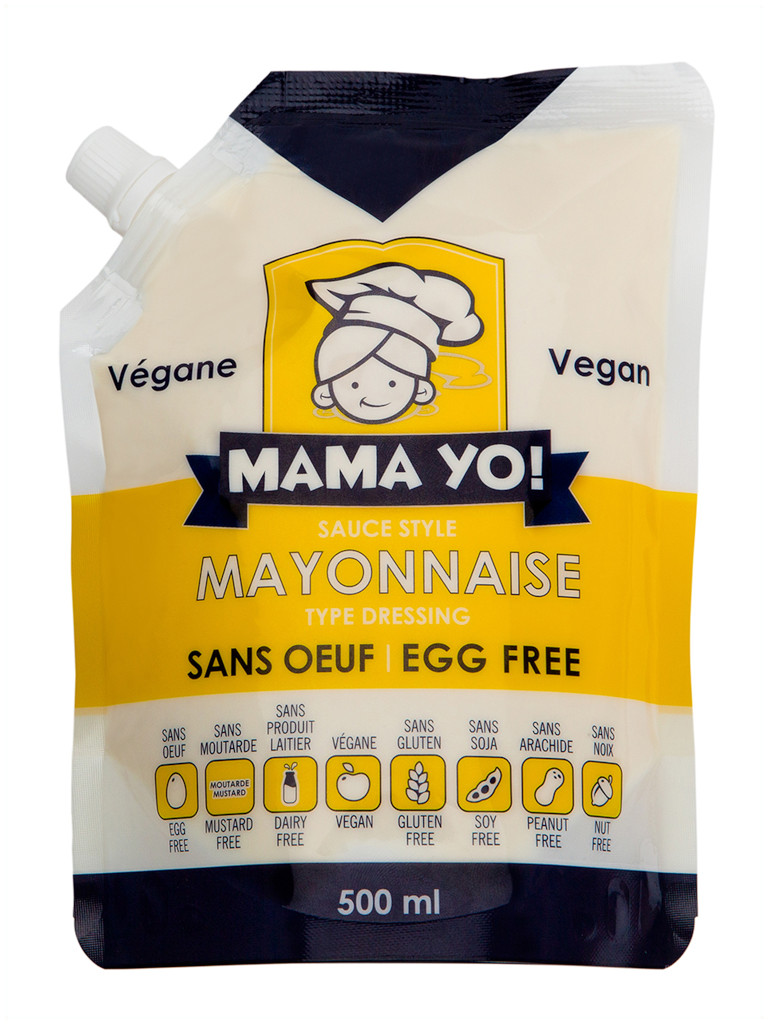 Mama Yo Vegan Mayonnaise - 500ml